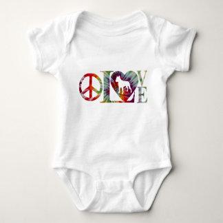 PITBULL LOVE BABY BODYSUIT