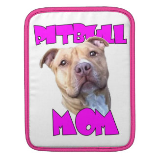 Pitbull Mom Dog iPad Sleeve