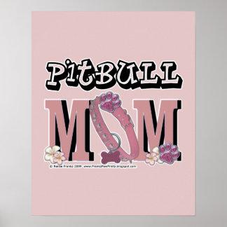 Pitbull MOM Poster