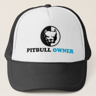 pitbull owner trucker hat