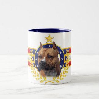Pitbull Pride Two-Tone Coffee Mug