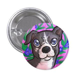 Pitbull Puppy 3 Cm Round Badge