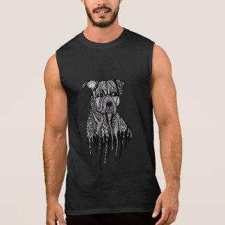 Pitbull Sleeveless Shirt