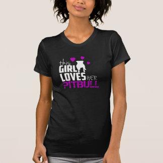pitbull tshirt for woman