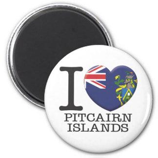 Pitcairn Island 6 Cm Round Magnet