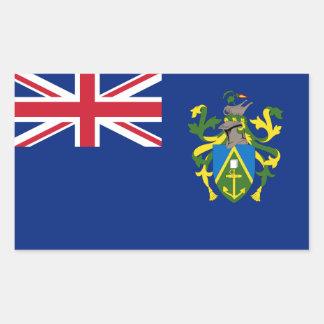 Pitcairn Islands Flag. Britain, British Overseas Rectangular Sticker