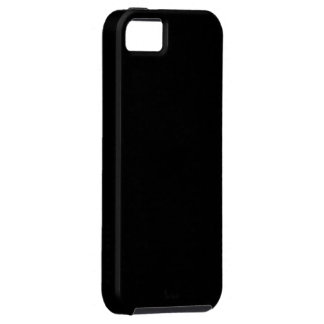 Pitch Black iPhone 5 Case-Mate Vibe™ Case Case For The iPhone 5