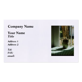 Pitcher By Window Business Cards
