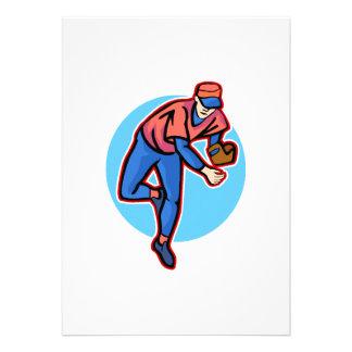 pitcher custom invites
