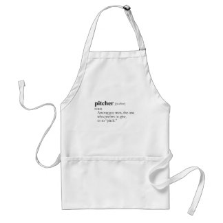 PITCHER (definition) Standard Apron