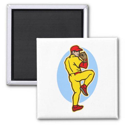 pitcher square magnet
