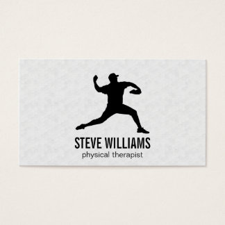 Pitcher (variation) | Sports Business Card
