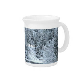 "Pitcher - ""Winter Day At Yellowstone"""