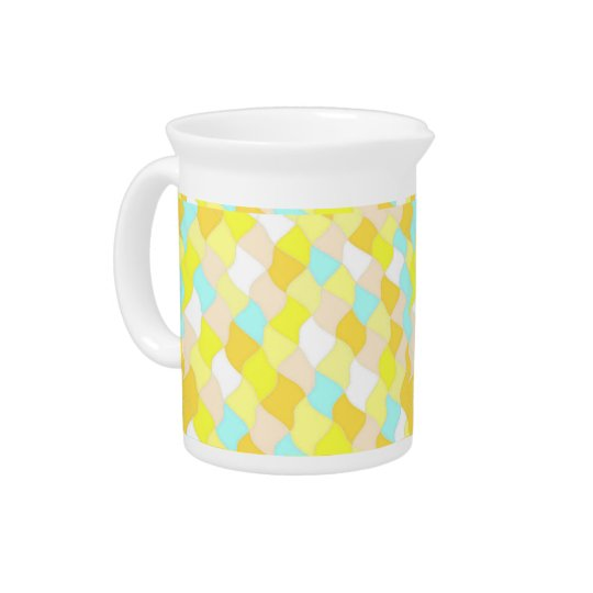Pitcher with Sun on Water BeDazzle Design