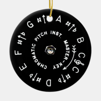 Pitchpipe Christmas Ornament