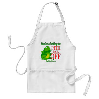 Pithed off frog 2 standard apron
