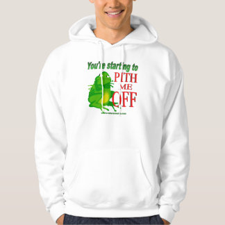 Pithed off frog 2 hoodie