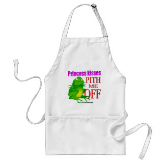 Pithed off frog standard apron