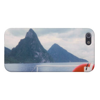 Pitons from the Sea iPhone 5 Covers