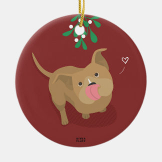 Pits, Love, & Joy Christmas Ornament