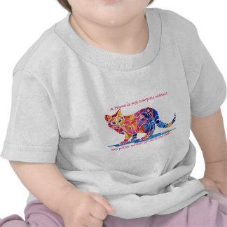 Pitter Patter of Little Cat Feet T-shirts
