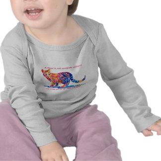 Pitter Patter of Little Cat Feet Tee Shirts