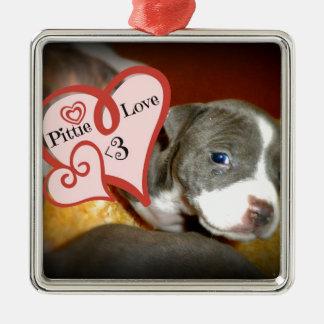 Pittie Love <3 Ornaments