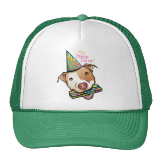 Pittie Party Mesh Hats