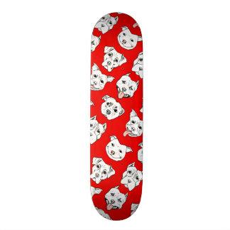 Pittie Pittie Please! Custom Skate Board
