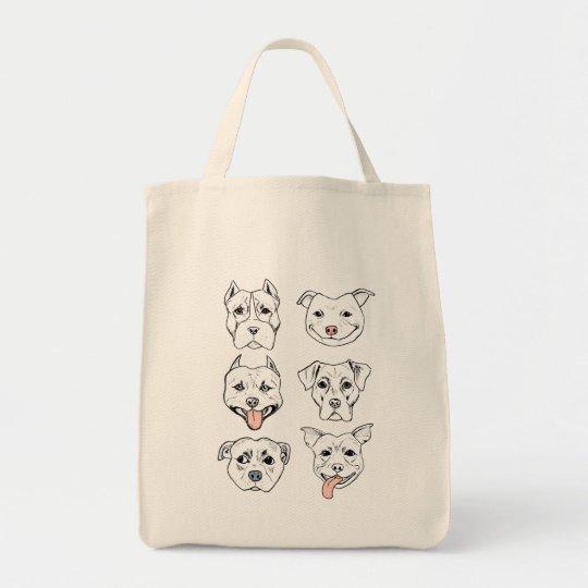 Pittie Pittie Please! Tote Bag