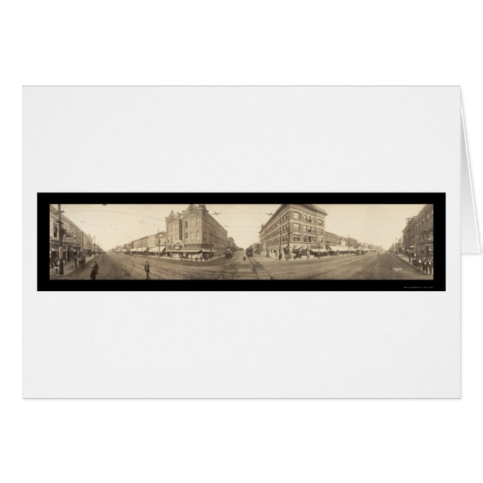 Pittsburg, KS Photo 1909 Greeting Card