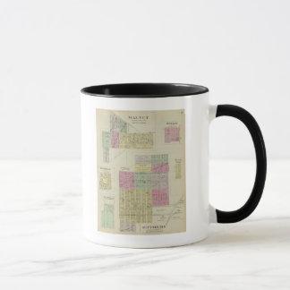 Pittsburg, Walnut, Beulah, and Lichfield, Kansas Mug