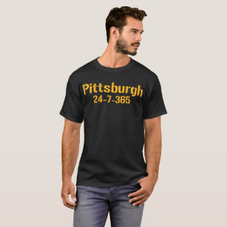 Pittsburgh 24-7-365 Shirt - Pittsburgh Football