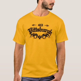 Pittsburgh 412 T-Shirt