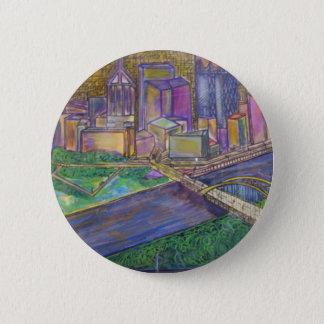 Pittsburgh 6 Cm Round Badge