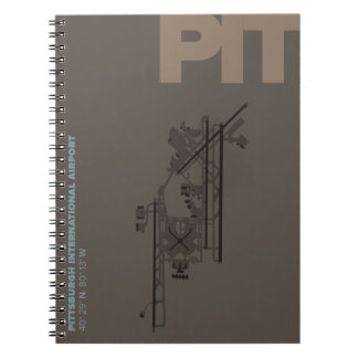 Pittsburgh Airport (PIT) Diagram Notebook