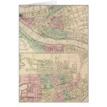 Pittsburgh and Allegheny, Pennsylvania Greeting Card