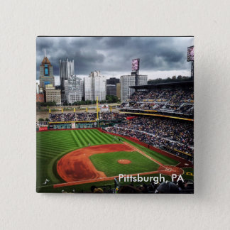 Pittsburgh Baseball 15 Cm Square Badge
