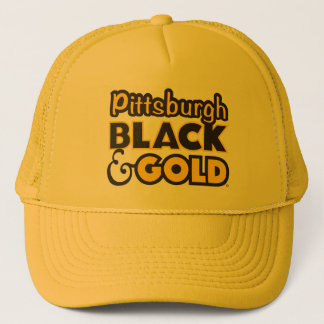 PITTSBURGH BLACK & GOLD HAT