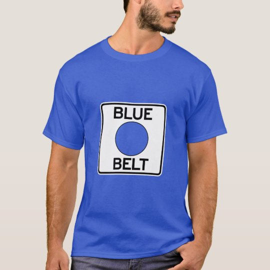 Pittsburgh Blue Belt T-Shirt