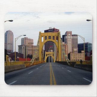 pittsburgh Bridge Mouse Mat