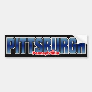 Pittsburgh Bumper Bumper Sticker