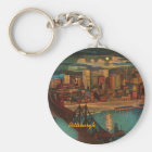 Pittsburgh By Moonlight Keychain
