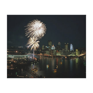 Pittsburgh Canvas Wall Print