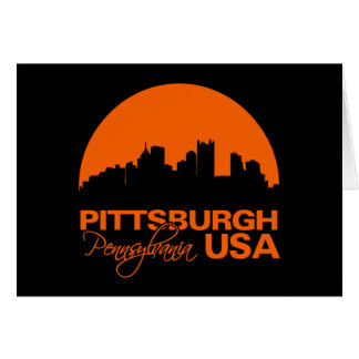 PITTSBURGH card - customize