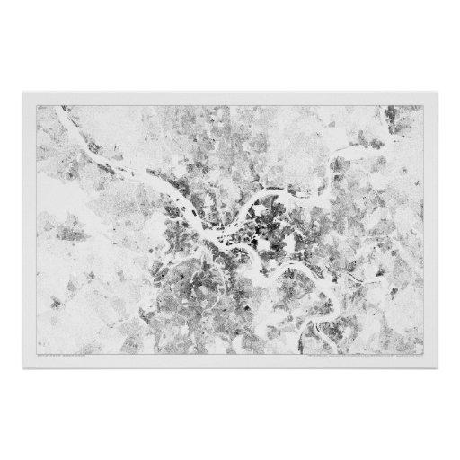 Pittsburgh Census Dotmap Poster