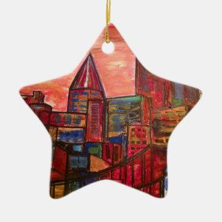 Pittsburgh Christmas Ornament