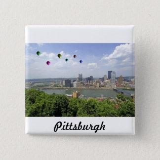 Pittsburgh City Pennsylvania 15 Cm Square Badge