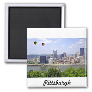 Pittsburgh City Pennsylvania Square Magnet