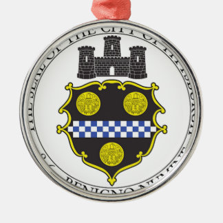 Pittsburgh City Seal Ornament